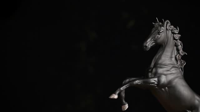 Black-Horse-Figure-hd-footage