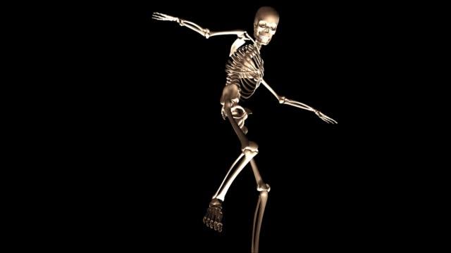 Animación-digital-en-3D-de-un-esqueleto-posando