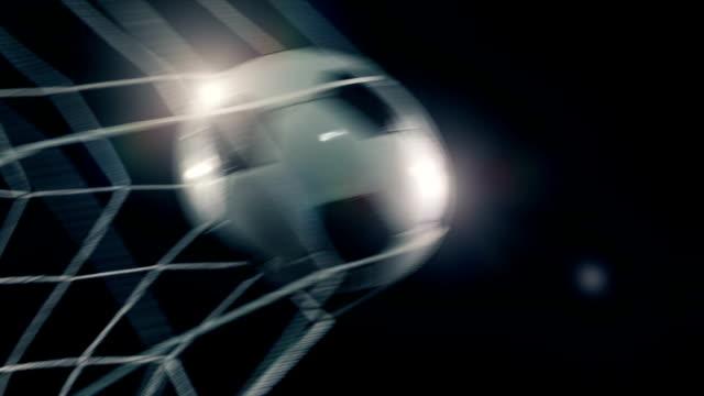 Cámaras-Flash-como-fútbol-golpes-neto-Closeup