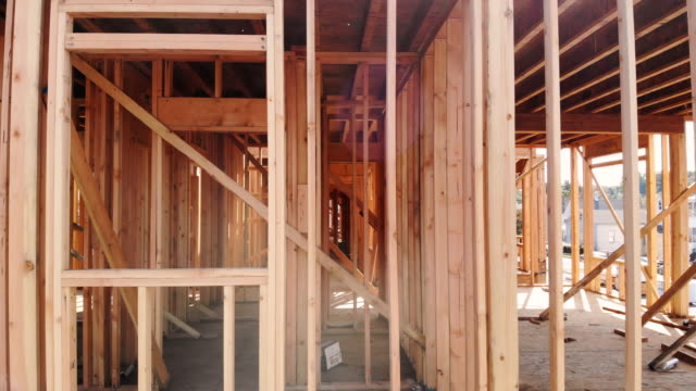 Building-construction-wood-framing-and-beam-construction-structure-at-new-property-development