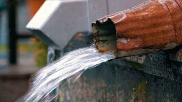 Water-Pipe-During-the-Rain
