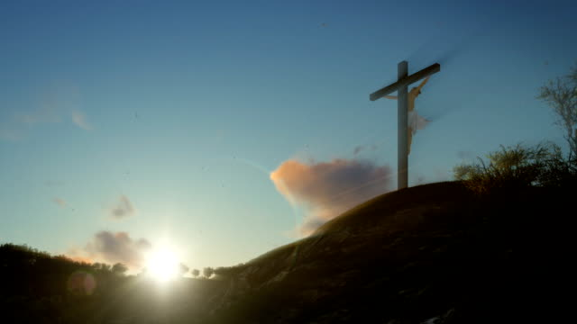 Jesus-Kreuz-bei-Sonnenaufgang