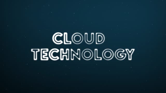 Abstract-moving-connection-structure-background-with-text-CLOUD-TECHNOLOGY