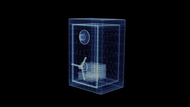 Holograma-de-una-rotación-segura-con-dinero