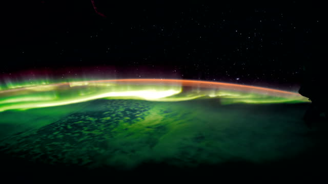 Earth-and-Aurora-Borealis-from-ISS-Elements-of-this-video-furnished-by-NASA-8K-Timelapse