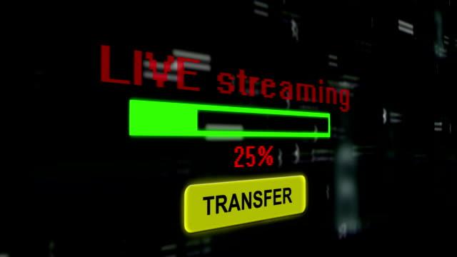 Live-streaming-transfer