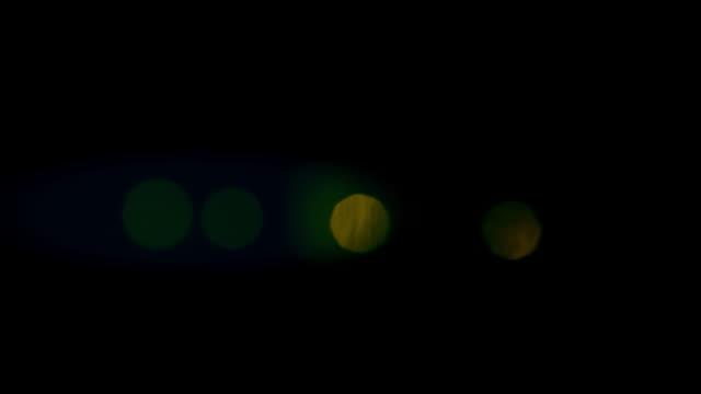 Verde-Red-luces-parpadeantes