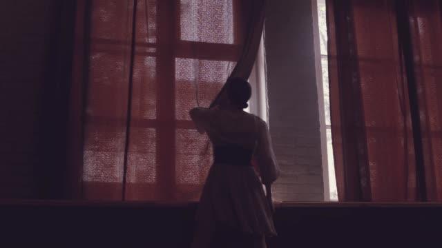 Danza-ballet-hermosas-Mañana-Ventana-