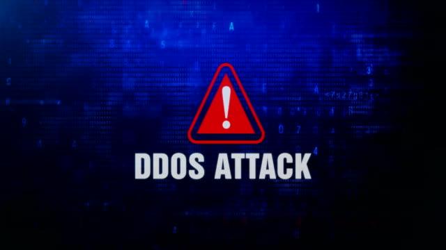 Aviso-de-ataque-DDOS-ADVERTENCIA-mensaje-de-error-parpadeando-en-la-pantalla-