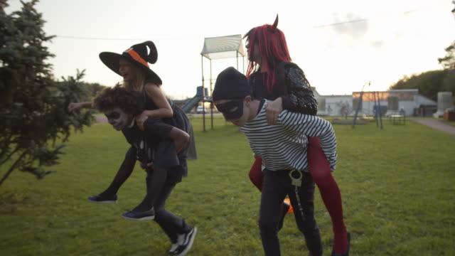 Boys-and-Girls-Having-Fun-on-Halloween
