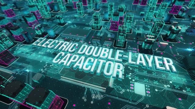 Condensador-eléctrico-de-la-doble-capa-con-concepto-de-tecnología-digital