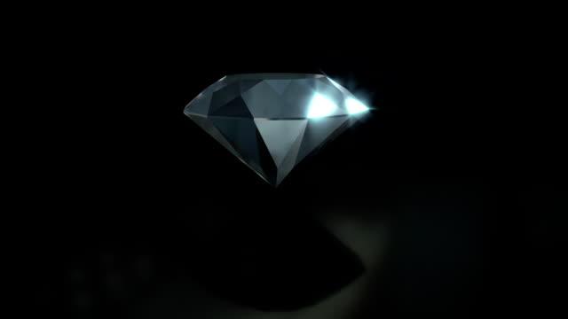 Clear-Spinning-Diamond