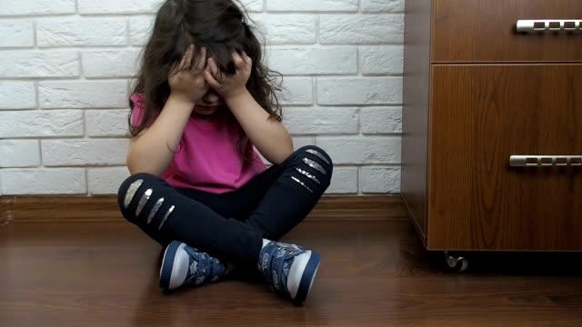 An-unhappy-child-