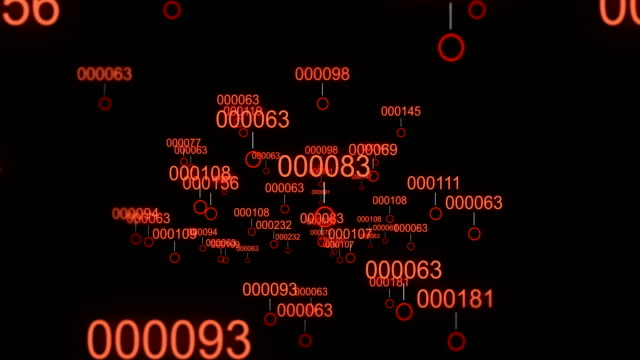 Camera-moves-through-digital-landscape-through-infected-virus-data