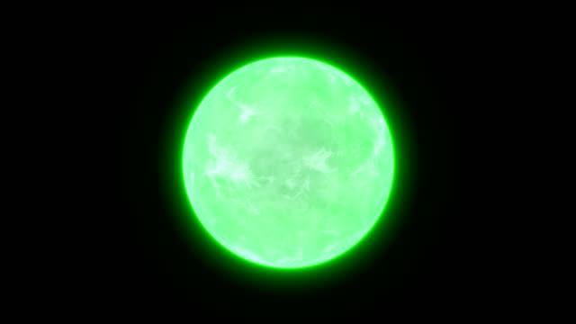 Resumen-energía-bola-ciencia-fondo-lazo-verde
