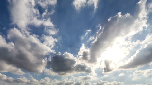 Time-lapse-of-cloudy-sky