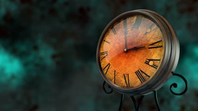 Antiguo-reloj-Vintage-Timelapse