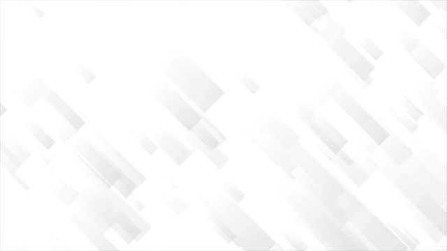 Light-grey-tech-geometric-abstract-video-animation