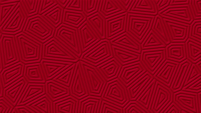 Dark-red-matte-geometric-surface-background-Random-burgundy-abstract-lines-shapes-looped-move-