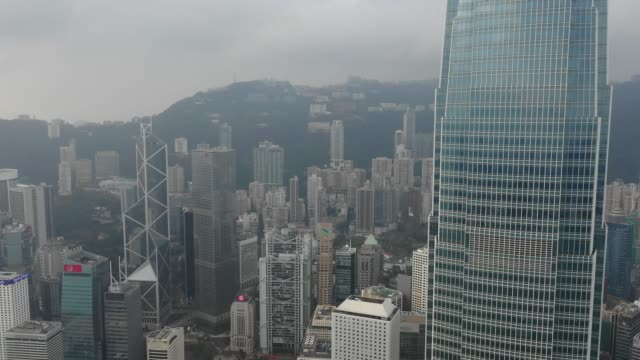 4K-aerial-view-footage-of-Central-district-in-Hong-Kong
