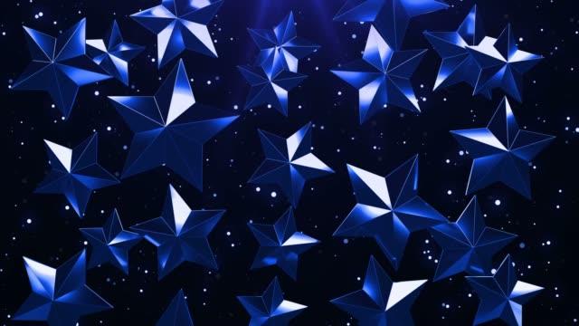 Circuito-de-fondo-de-estrellas-azules
