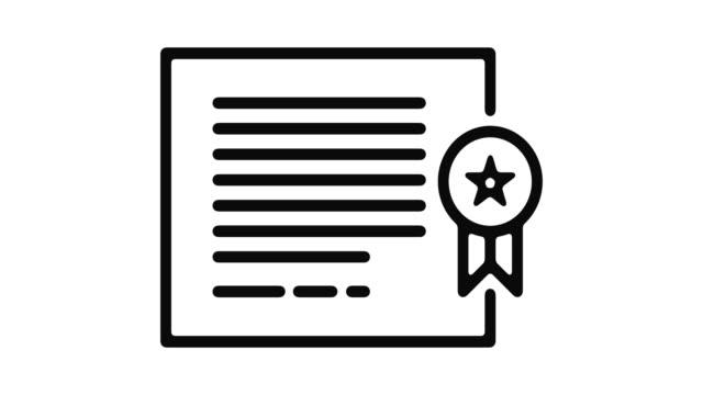 Diploma-línea-Motion-Graphic