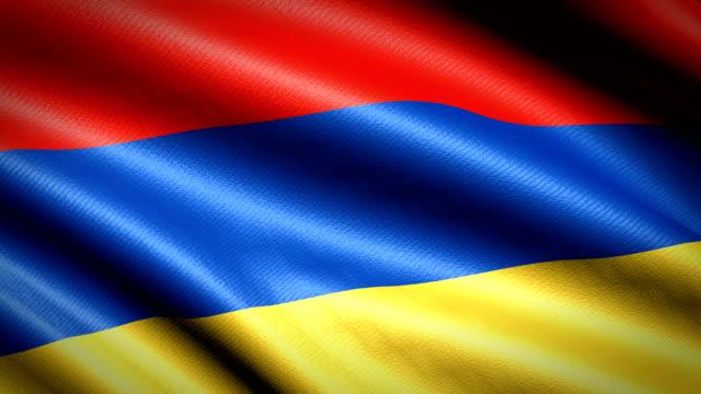 Armenien-Flagge-Nahtlose-Schleife-Animation-4K-High-Definition-Video