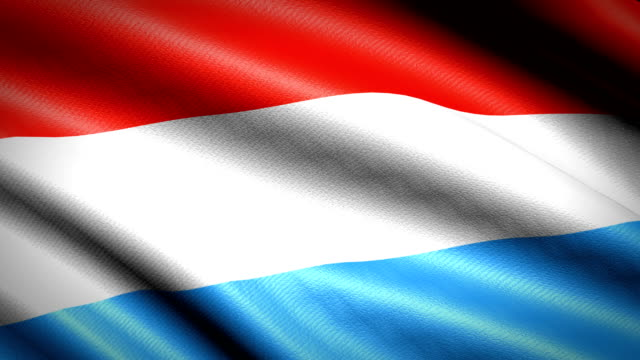 Luxembourg-Flag-Seamless-Looping-Animation-4K-High-Definition-Video