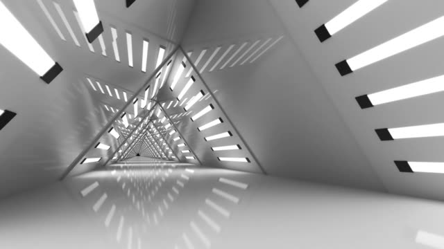 Triangle-Looped-Futuristic-Background-Tunnel