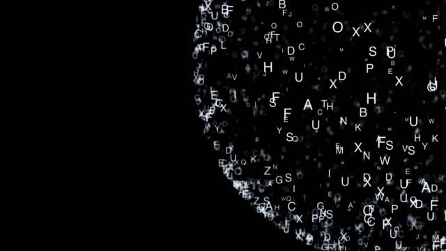 Abstrakte-Komposition-von-chaotischen-die-Buchstaben-in-einer-Form-und-werfen-einen-Schatten-4-K