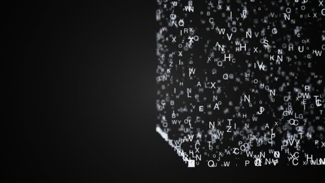 Resumen-de-la-composición-caótica-en-movimiento-cartas-se-coloca-en-un-cubo-y-desmolde-una-sombra-4-K