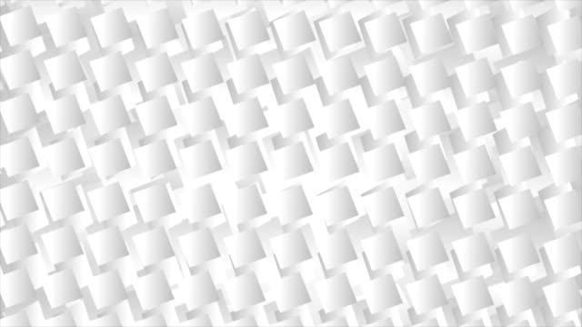 White-grey-geometric-squares-video-animation