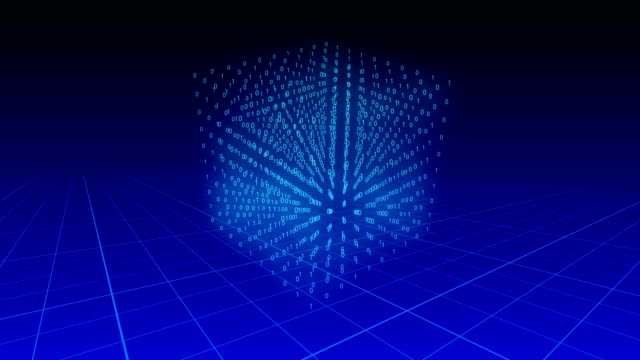 3d-cube-of-binary-digits-rotating-on-a-blue-background-over-a-grid-plane-