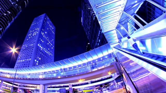 Timelapse-de-noche-atractivos-de-la-ciudad-Hong-Kong-de-China-4K-tiro-ajustado-