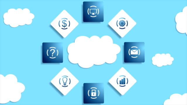 Server-clouds-database-abstract-technology-video-animation