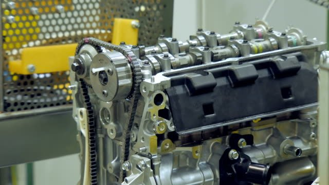 internal-combustion-engine-with-strap-timing-belt-automobile-industry