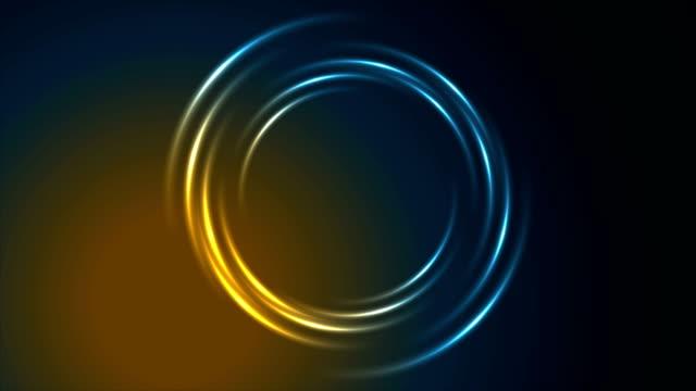 Brillante-brillante-neón-círculo-remolino-video-animación
