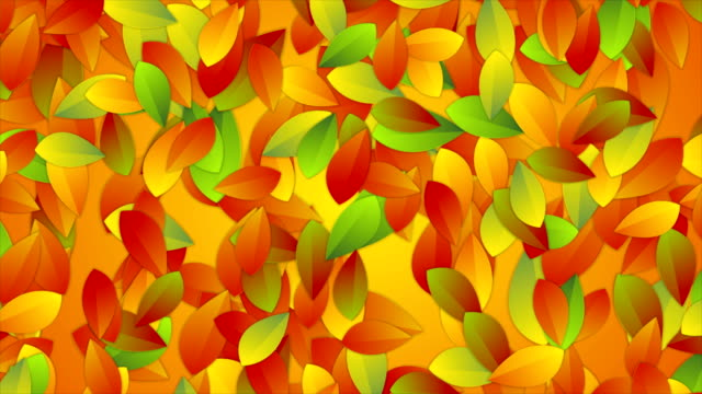 Bright-autumn-leaves-abstract-video-animation