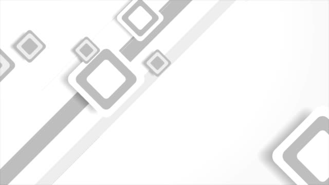 Abstract-grey-geometric-paper-squares-video-animation