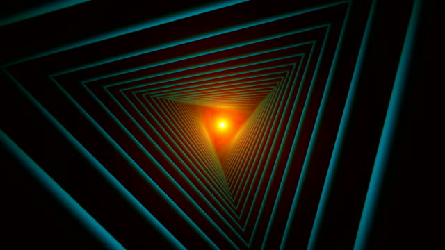 Triangle-Future-Space-Tunnel-A-Science-Fiction-Composition