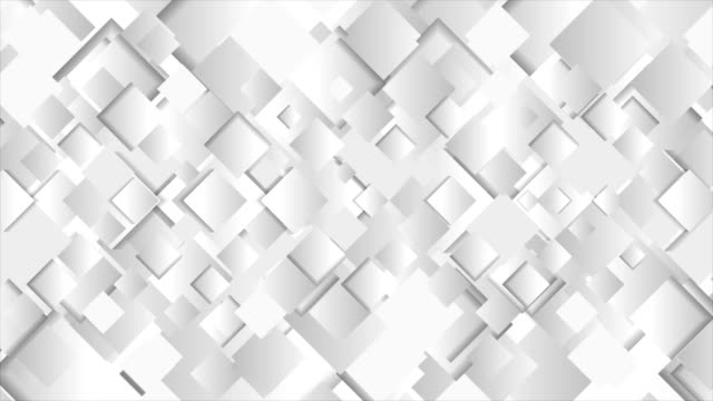 Abstract-grey-squares-technology-video-animation