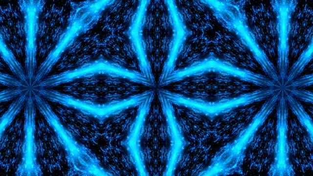 Abstract-light-kaleidoscope-Seamless-loop