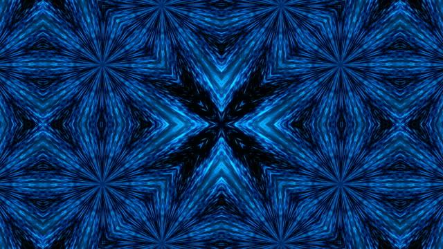 Caleidoscopio-de-luz-abstracta-Bucle-sin-interrupción