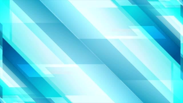 Light-blue-geometric-technology-video-animation