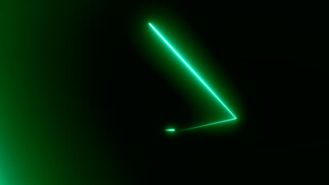 Abstract-background-with-neon-triangles