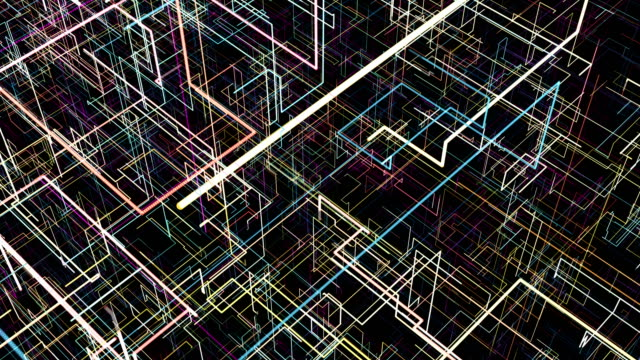 Abstract-background-with-circuit-Digital-illustration