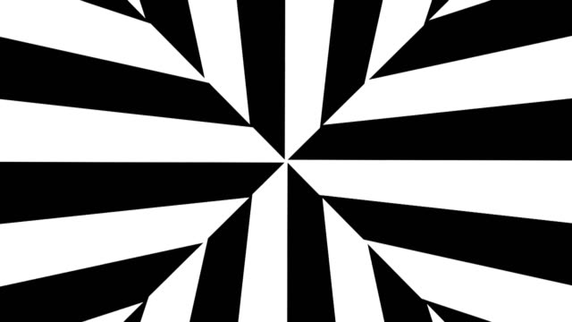 Abstract-Black-and-White-stripes-3d-rendering-seamless-loop