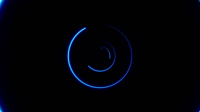 Abstract-background-with-neon-circles