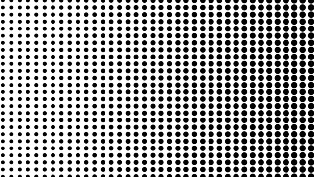 Dynamic-black-and-white-composition-Halftone-element