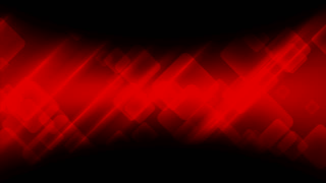 Abstract-dark-red-tech-geometric-video-animation